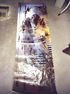 Alien poster 1985 Türposter 156 X 52 cm, (Neudruck 1995)