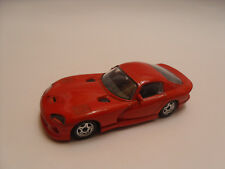 Burago Viper Gts Dodge Coupè 1 43 Red Rosso Speed Machines Macchina Car Vintage