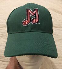 "Memphis Redbirds ""M"" Music Note Logo Green Silky O'Sullivan's Cap Hat NWOT"