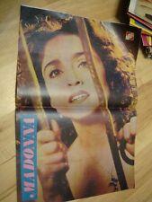 VERY RARE !!! RAZEM magazine 20 1989 * Agnieszka Robotka cover MADONNA on poster