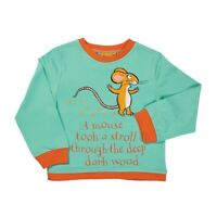 Gruffalo Mouse Children's Long Sleeve T-Shirt by Briers