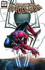 Amazing Spider-Man 1 Marvel 2018 Clayton Crain Trade Variant New York City