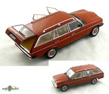 Mercedes-Benz S123 T-Modell 230 Estate english red code 504 1:18 Norev 183732