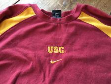 USC University Southern California Trojans Nike Sweatshirt Thermafit Team XL Men