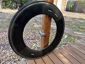 Zipp 1080 Front Wheel Tubular - Carbon Fiber Aero -