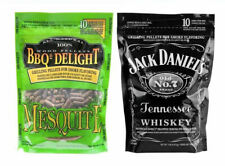 Jack Daniels Smoking Pellets & Mesquite Smoking Pellets