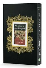 To Kill A Mockingbird Book by Harper Lee Hardcover Slipcase Collectors Edition