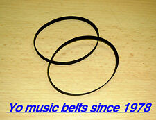 2 belts Kit für Aiwa AD-F660 AD-F770 AD-F990 Cassette Tape Deck Player Belt Set
