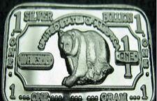 10 x 999 Silver Silver Bullion Silver Silverbar Bear Bear NEW! NEW RARE!!!