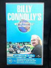 BILLY CONNOLLY'S WORLD TOUR OF ENGLAND, IRELAND & WALES ~2 x VHS VIDEOS~233 MINS