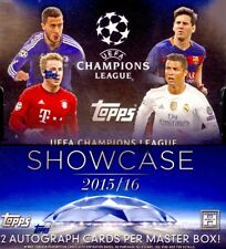 2015-16 Topps Champions League Showcase Soccer fútbol jerarquizado base set 1-200!