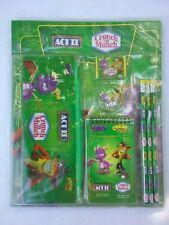 Crash Bandicoot Boom, Bang Spyro A New Beginning School Kit Collectible Promo