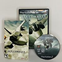 Ace Combat 5 The Unsung War PS2 Complete Video Game Playstation 2 Tested Works