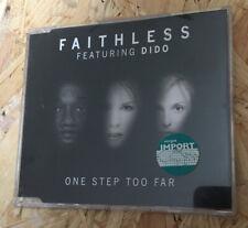 Faithless Feat Dido: One Step Too Far Import CD Single
