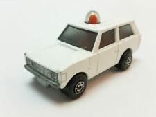 Véhicules miniatures blancs Matchbox 1:64