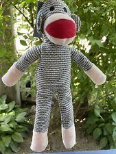 NANDOG PET GEAR ~ Monkey Squeaky Dog Toy