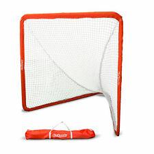 GoSports Regulation 6X7 Ft Steel Framed Lacrosse Goal Net with Case (Open Box)
