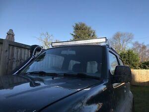 "Suzuki Jimny LED Light Bar Brackets 42"" LED off road 4x4 night Roof Mount"