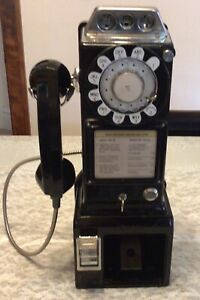 Vintage Northern Electric 3 Coin Payphone