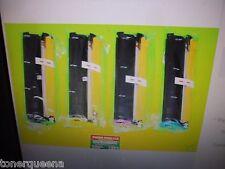 4 Hi Yield Toner Cartridge for Konica Minolta QMS MagiColor 2300W 2300DL 2350EN