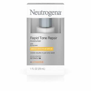 Neutrogena Rapid Tone Repair Moisturizer with sunscreen SPF 30 + Vitamin C