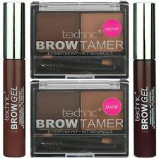 Technic Brow Gel and Brow Tamer Kit Powder Eyebrow Definer Brush