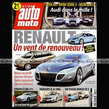 AUTO MOTO N°154 LEXUS ISF MERCEDES SL 63 AMG BENTLEY GTZ VW SCIROCCO FREELANDER