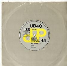 "UB 40 - Red Red Wine 7"" Single 1983"