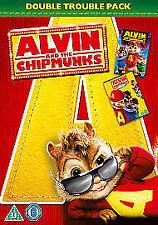 Alvin And The Chipmunks / Alvin And The Chipmunks 2 - The Squeakquel (DVD,...