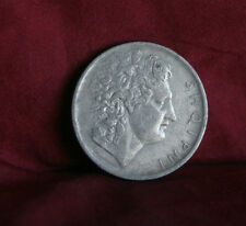 Albania 1 Lek 1927 World Coin KM5 Alexander the Great portrait and on his Horse