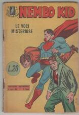 NEMBO KID albi del falco N. 5 LE VOCI MISTERIOSE  originale mondadori 1954