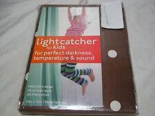 "New Lightcatcher ""Big Dots"" Chocolate Insuldark Lining Window Valance 54x15 Nip"