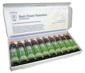 10ml self-select Bach Remedy set - choose 10 remedies