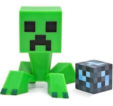 "Authentic Minecraft Creeper Vinyl 6"" Inch Toy Figure With Diamond Block"