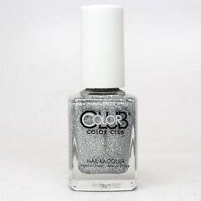 Color Club Nail Lacquer # 781, Silver Glitter, 0.5 oz