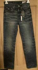 G-Star Raw 3301 Mens Boys Straight Jeans, W26 L32, Medium Aged, BNWT