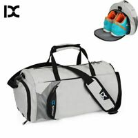 Men Gym Bags Training Fitness Travel Sports Outdoor Duffle Luggage Shoulder Bag