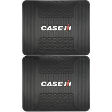 2PC Case IH Universal Car Truck Rear Rubber Floor Mats