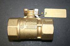 "JOHNSON CONTROLS VG1241ES 1-1/2"" 2W BALL VALVE 46.8 CV BRASS TRIM HVAC - NEW"