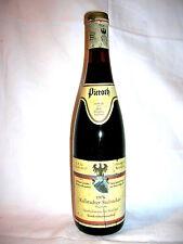 1976 kallstadter Steinacker siegerrebe Trockenbeerenauslese Rheinpfalz 0,7 litros