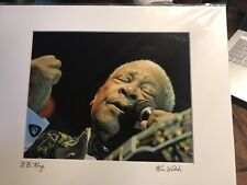 Original Art PHOTOGRAPH Blues Music Guitarist B.B. KING by Kim Welsh