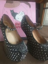 Jeffrey Campbell Spiked Wedge Prickly TG TV Size 8