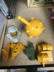 Centurions Mixed Parts Lot Kenner 1986