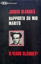 JOSEFA SLANSKA RAPPORTO SU MIO MARITO IL CASO SLANSKY EDITORI RIUNITI 1969