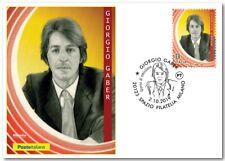 Italy 2019: Giorgio Gaber-Postcard Official Poste Italiane