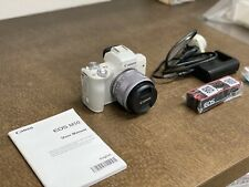 Canon EOS M50 24.1 MP Mirrorless Camera - White with 15-45mm Lens