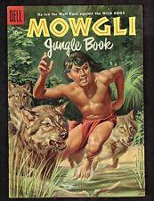 Four Color #620 ~ Mowgli Jungle Book /M.Gollub Painted Cvr art ~ (7.5) 1955 WH