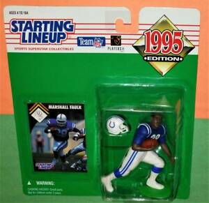 1995 MARSHALL FAULK Indianapolis Colts NM/MINT Rookie *FREE s/h* Starting Lineup