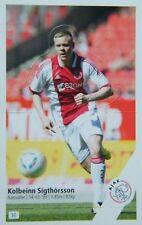 Plus 2011-2012 Panini Like sticker 30 Kolbeinn Sigthorsson Ajax Amsterdam