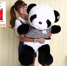 "32"" Giant Big Panda teddy bear Plush Doll Toy Stuffed Animal Pillow gift 50-55cm"